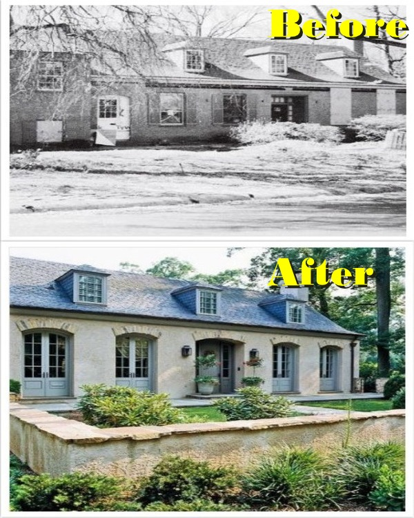 haunted to french paradise transformation