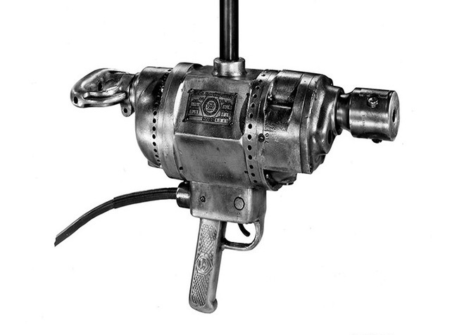 the 1961 electric drill