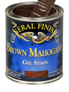Gel stain for creating antique furniture