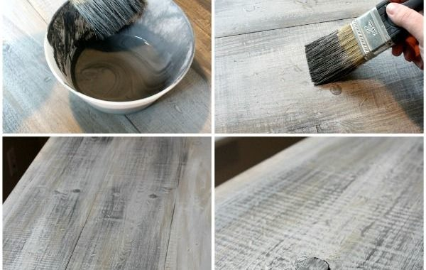 Make New Wood Look Old and Rustic