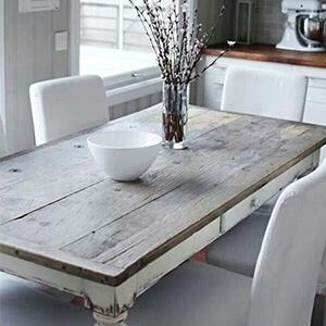 Creating rustic furniture