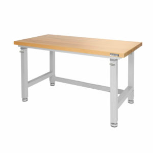Seville Classics Adjustable Height Heavy Duty Workbench